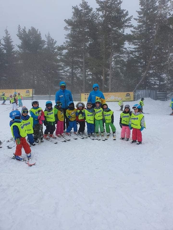 Unsere kleinen Skifahrer